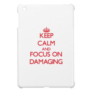 Keep Calm and focus on Damaging iPad Mini Cases