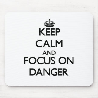 Keep Calm and focus on Danger Mouse Pad