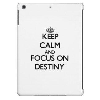 Keep Calm and focus on Destiny Case For iPad Air