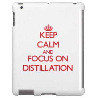 Keep Calm and focus on Distillation