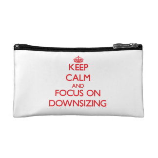 Keep Calm and focus on Downsizing Makeup Bag