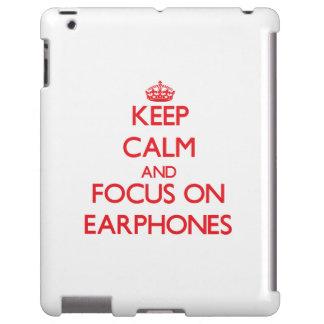 Keep Calm and focus on EARPHONES