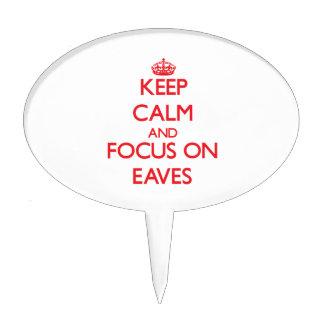 Keep Calm and focus on EAVES Cake Picks