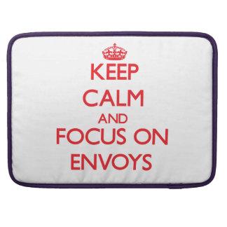 Keep Calm and focus on ENVOYS MacBook Pro Sleeve