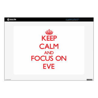 Keep Calm and focus on EVE Laptop Decals