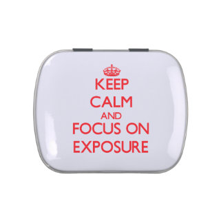 Keep Calm and focus on EXPOSURE Candy Tins