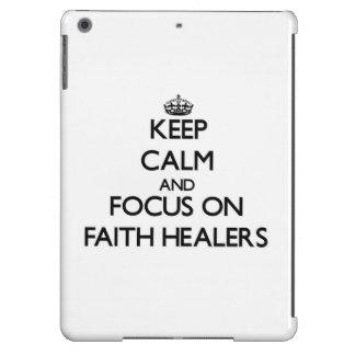 Keep Calm and focus on Faith Healers Case For iPad Air