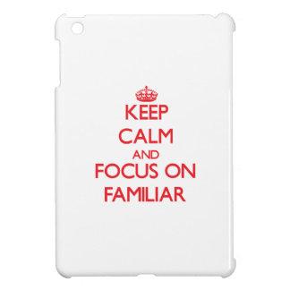 Keep Calm and focus on Familiar iPad Mini Covers