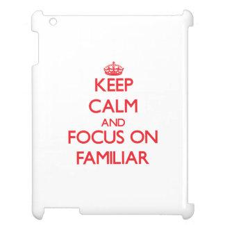 Keep Calm and focus on Familiar iPad Covers