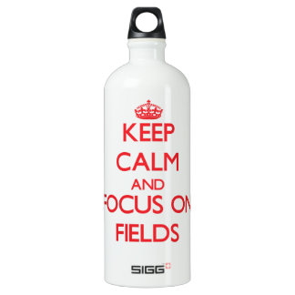 Keep Calm and focus on Fields SIGG Traveler 1.0L Water Bottle