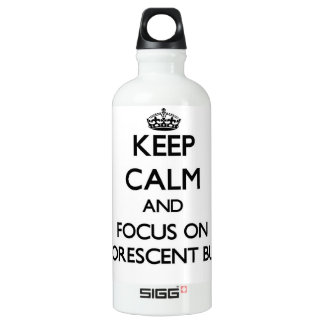 Keep Calm and focus on Fluorescent Bulbs SIGG Traveler 0.6L Water Bottle