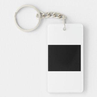 Keep Calm and focus on Free Single-Sided Rectangular Acrylic Keychain