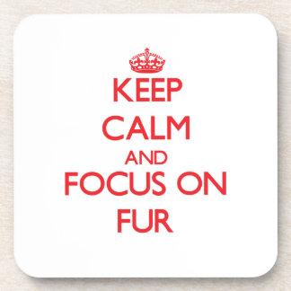 Keep Calm and focus on Fur Coaster