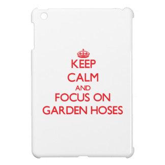 Keep Calm and focus on Garden Hoses iPad Mini Cover
