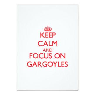 Keep Calm and focus on Gargoyles Announcements