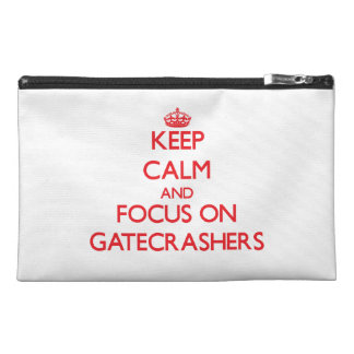 Keep Calm and focus on Gatecrashers Travel Accessories Bags