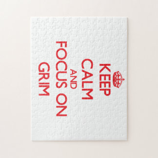 Keep Calm and focus on Grim Puzzles