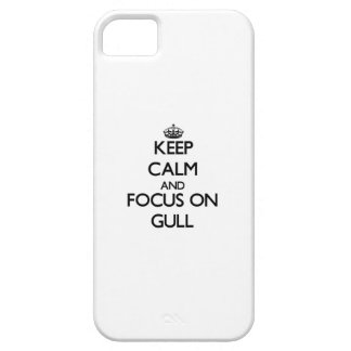 Keep Calm and focus on Gull iPhone 5/5S Cover