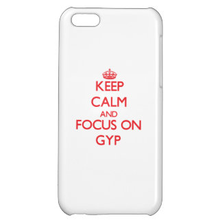 Keep Calm and focus on Gyp iPhone 5C Case