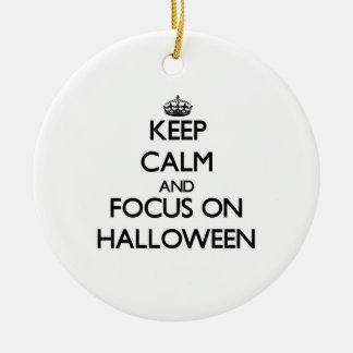 Keep Calm and focus on Halloween Ornaments