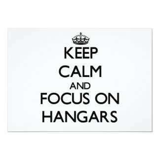 Keep Calm and focus on Hangars Announcements