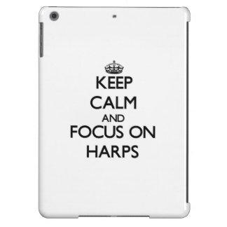 Keep Calm and focus on Harps Case For iPad Air