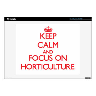 """Keep Calm and focus on Horticulture Skin For 14"""" Laptop"""