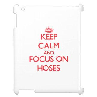 Keep Calm and focus on Hoses iPad Cover