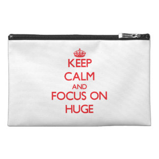 Keep Calm and focus on Huge Travel Accessories Bags