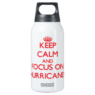 Keep Calm and focus on Hurricanes SIGG Thermo 0.3L Insulated Bottle