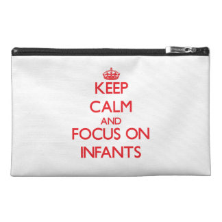 Keep Calm and focus on Infants Travel Accessory Bags