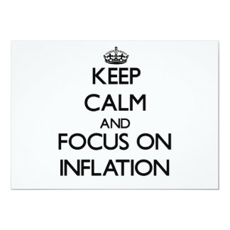 Keep Calm and focus on Inflation Announcement