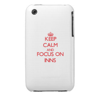 Keep Calm and focus on Inns iPhone 3 Case-Mate Case