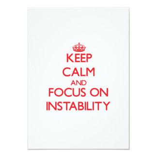 Keep Calm and focus on Instability Custom Invite