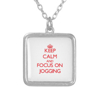 Keep Calm and focus on Jogging Jewelry