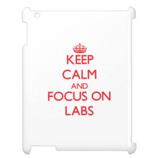Keep Calm and focus on Labs Cover For The iPad
