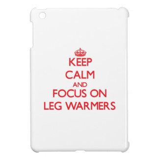 Keep Calm and focus on Leg Warmers iPad Mini Cover