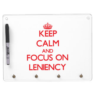 Keep Calm and focus on Leniency Dry-Erase Boards