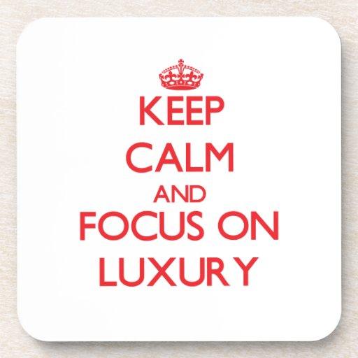 Keep Calm and focus on Luxury Coasters