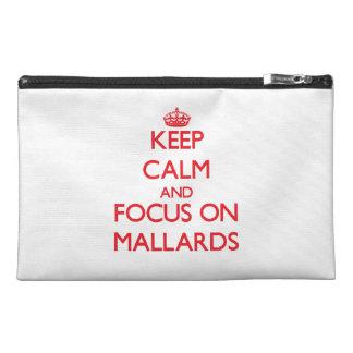 Keep Calm and focus on Mallards Travel Accessory Bag