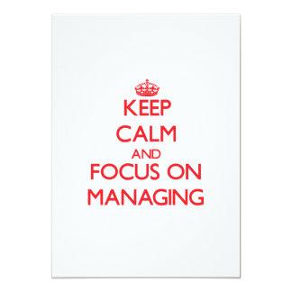 Keep Calm and focus on Managing Custom Invites