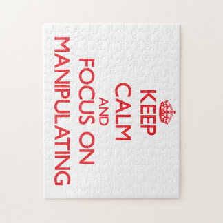 Keep Calm and focus on Manipulating Puzzle