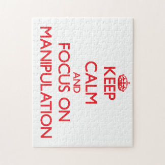 Keep Calm and focus on Manipulation Puzzles