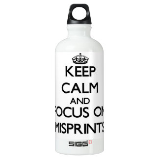 Keep Calm and focus on Misprints SIGG Traveler 0.6L Water Bottle