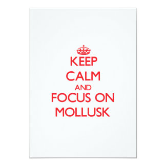 Keep Calm and focus on Mollusk Cards