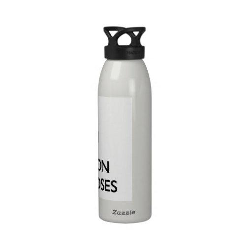 Keep calm and focus on Mongooses Reusable Water Bottle
