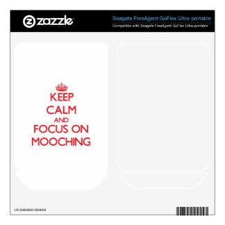 Keep Calm and focus on Mooching FreeAgent GoFlex Skin