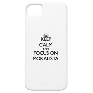 Keep Calm and focus on Moralista iPhone 5 Case
