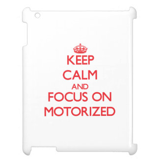 Keep Calm and focus on Motorized Cover For The iPad 2 3 4