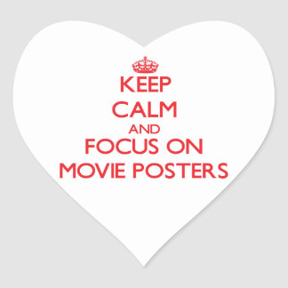 Keep Calm and focus on Movie Posters Sticker